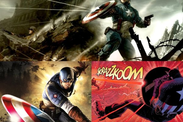 Captain America Animated Wallpaper Preview
