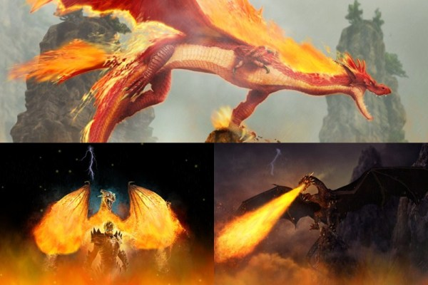 Fire Dragon Animated Wallpaper Preview