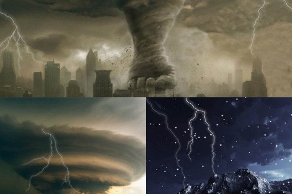 Lightning Storm Animated Wallpaper