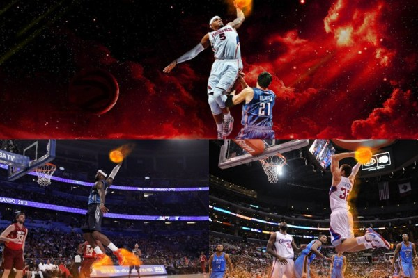 NBA on Fire Animated Wallpaper Preview
