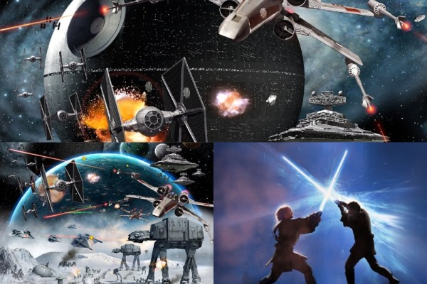 Star Wars Animated Wallpaper Preview