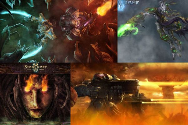 Starcraft Animated Wallpaper Preview