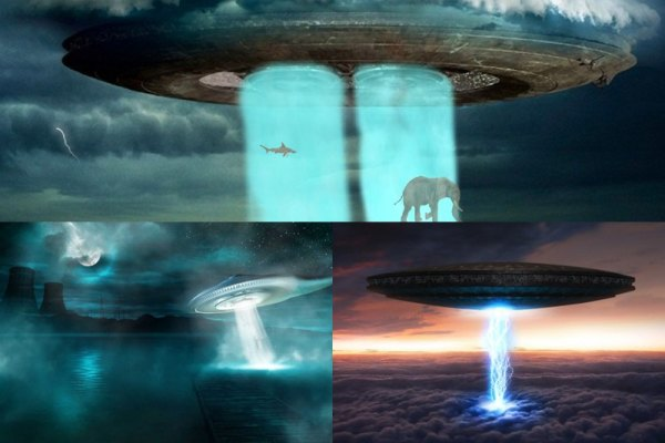 UFO Alien Animated Wallpaper Preview
