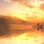 Beautiful Fishing Lake Animated Wallpaper