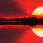 Beautiful Lake View Animated Wallpaper