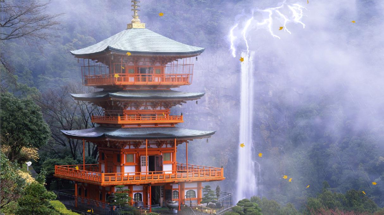 Traditional Japan Animated Wallpaper