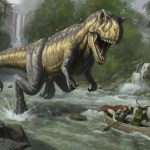 Prehistoric Monsters Animated Wallpaper