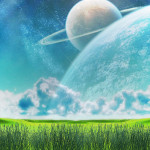 Space Fields Animated Wallpaper
