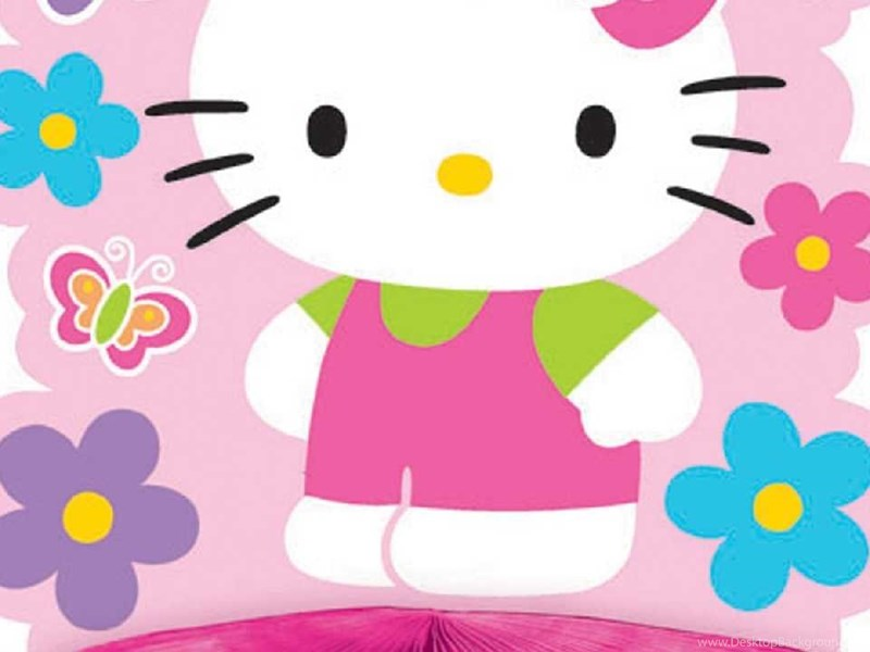 Gambar Pink Hello Kitty Clipart Best Desktop Background