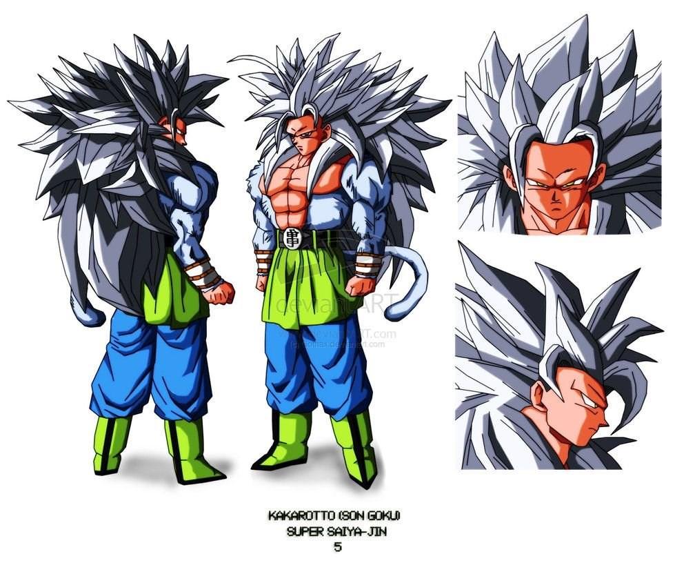 Dragon Ball Z Wallpapers Goku Super Saiyan 5 Desktop Background