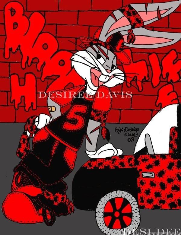 Gangsta Bugs Bunny By Ladydesidee On Deviantart Desktop Background