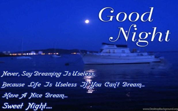 Free 17 Beautiful Good Night Wallpapers Hd Desktop Background