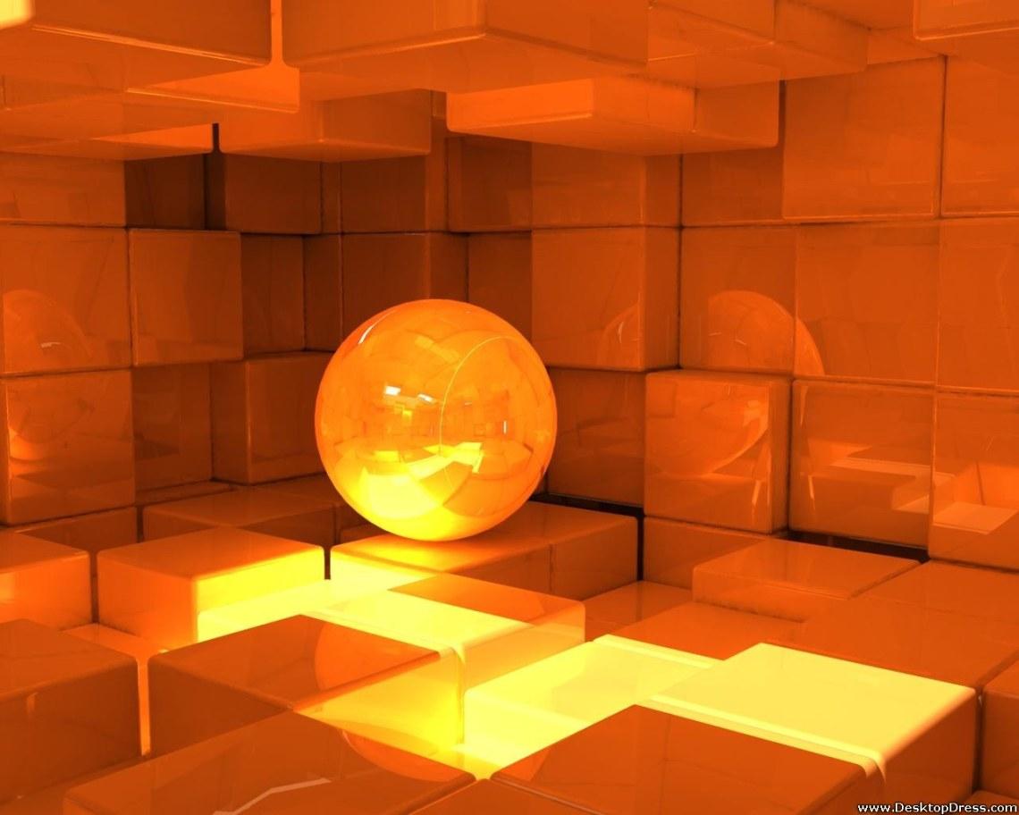 Desktop Wallpapers 3d Backgrounds Box Room Yellow Www Desktopdress Com
