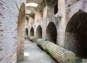 Napels ruïnes