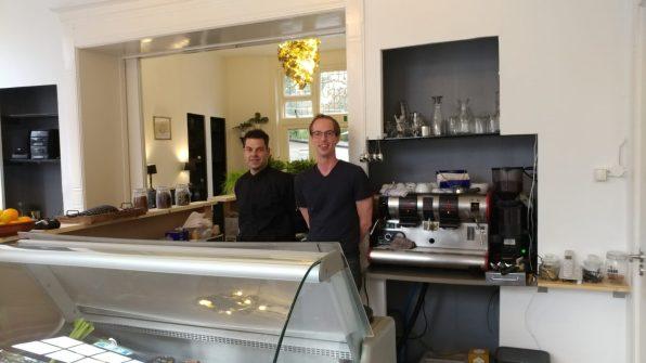Kok William en eigenaar Boudewijn.
