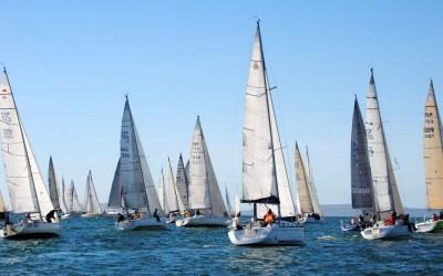 Nuevamente se va a superar el medio centenar de embarcaciones participantes en la Regata Interclubes Ría de Pontevedra