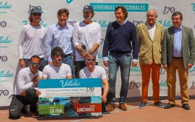 El «Noticia» de Torcida – Tabares grandes vencedores de las Villalia Spring Series de J70