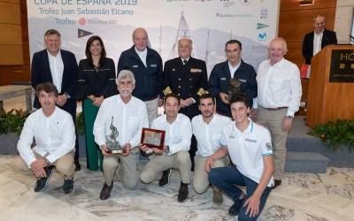 """El """"Bribon 500 Movistar"""" y el """"Seljm"""" renuevan su título de vencedores del Trofeo Juan Sebastián Elcano Clásicos y Xacobeo 2021 Open respectivamente."""