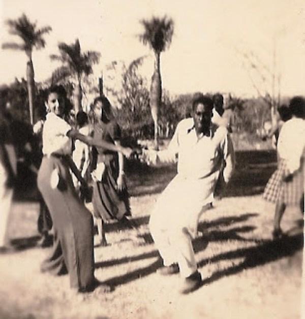 Picaso y jovenes jazz. 1946. Bosque de La Habana