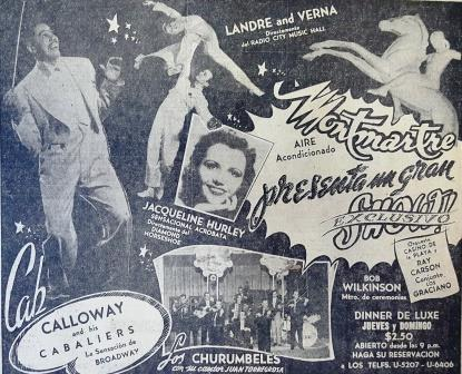 Advertise in Diario de la Marina-Nov.1949-BR
