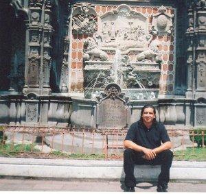 Gustavo Ruiz Pascacio visitando Puebla/ Foto: Cortesía