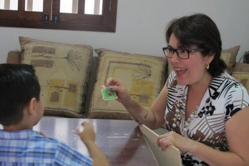 Maestra Herlinda Castro / Foto: Gaby Barrios