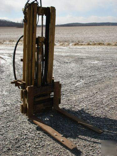 Tractor 3 Point Yale Forklift Fork Lift Loader Bail Hay