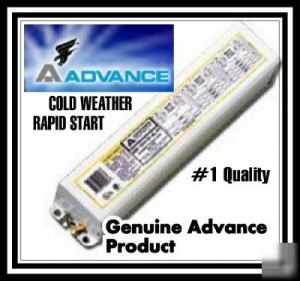 Cold weather sign ballast high output fluorescent lamps