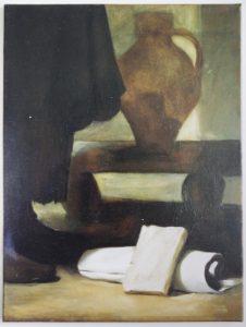 esmond Mac Mahon - Fine artist - London - Equestrian art - Velazquez Aesop
