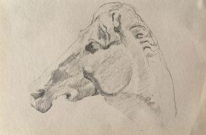 esmond Mac Mahon - Fine artist - London - Equestrian art - Horse