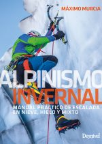Winter mountaineering manual cover, by Máximo Murcia