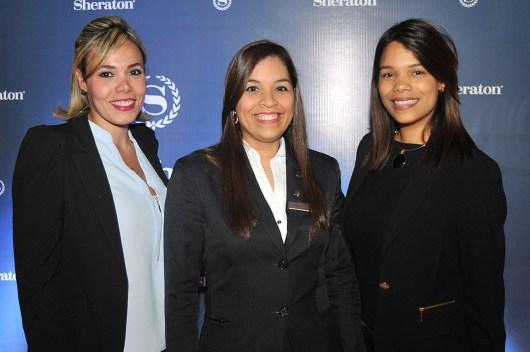 Elibeth Lamarche, Marleny Vargas y Haydee Garrido