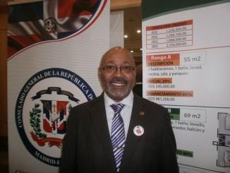 Cónsul dominicano en Madrid, Rafael Acosta Javier