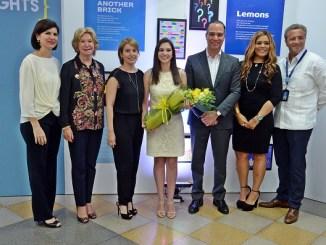 Karina Pablo de Redman, Maureen Tejeda, Rosalía De Moya, Andrea Díaz De Moya, Ney Díaz, Carmen Minaya y Antón Tejeda.