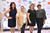 Vianca Abreu, Mirna Pimentel, Grace Gómez y Ana Mercy Otañez.