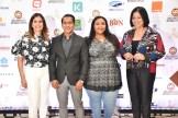 Rosanna Camarena, Aneury Castillo, Rita Pérez y Carol Pérez.