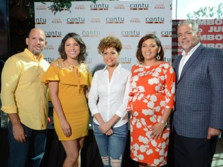 Luis Olivo,Monica Saveri, Elaine Féliz, Carmen Nolasco y Wilfredo Mallen