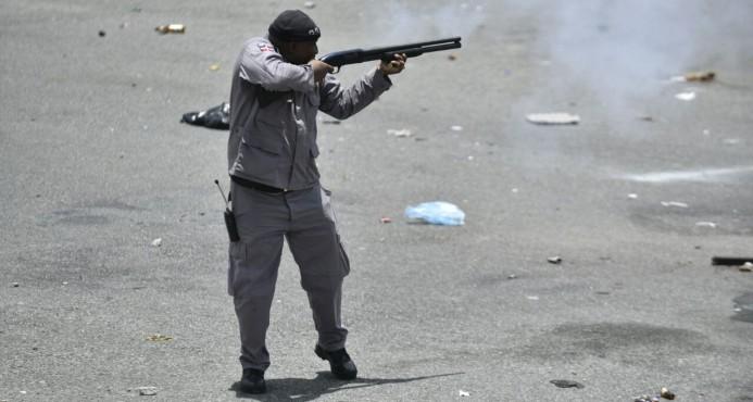 policia disparos