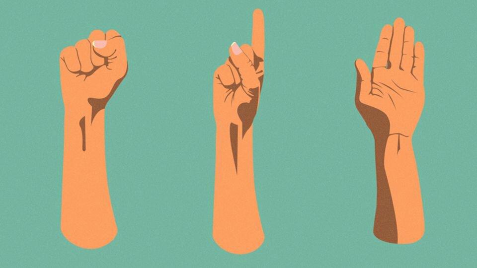 Qué significan las señales de mano que salvan las vidas de los afectados por el terremoto en México