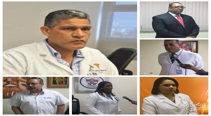 Directores de hospitales del Gran Santo Domingo