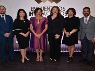 Eduardo Hernandez, Amelia Reyes, Lady Reyes,Maria Isabel Grullon, Lara Guerrero y Ricardo Pichardo.