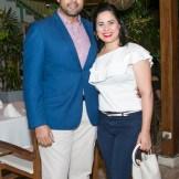Kelvin Lopez y Miosotis Sansur