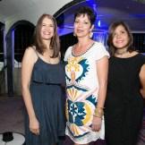 Michelle Mendoza, Claudia Sandoval y Luz Polanco