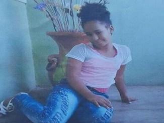 La niña Rosa Iris Maite, de 11 años, cuyo cuerpo fue hallado en La Otra Banda, Higüey. Su ropa estaba rota y tenía varias heridas.
