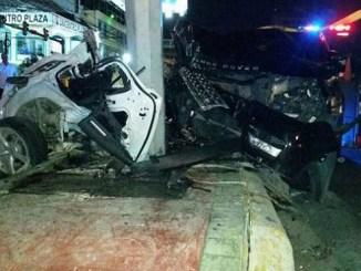 Los accidentes de tránsito ocurridos al inicio de este mes, cuando se celebran las festividades navideñas preocuparon en diferentes sectores.