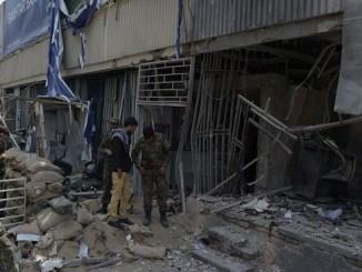 Los talibanes reivindicaron la explosión, que ocurre una semana después de un ataque al Hotel Intercontinental en Kabul en el que murieron más de 20 personas.