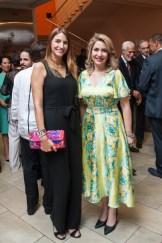 María Elena de Aguayo y María Luisa Asilis de Matos