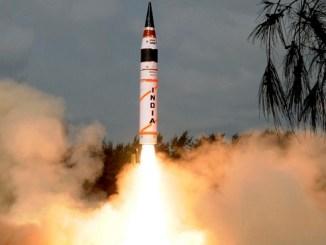 El Agni 5 es un misil balístico intercontinental diseñado específicamente para disuadir a China.