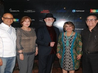 Chef Martin Omar, Carmen Heredia, Ivan García Guerra Verónica Sención, y León David.