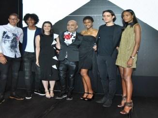Francis Arredondo, Kleydher Martínez, Jessica Hasbún, Luis Menieur, Ana María Figueroa , Jayro Castro y Arlenis sosa